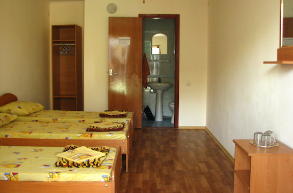 Фото отдых в гостинице Пальмира люкс железный порт