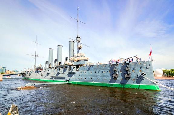 Картинка поездка на крейсер Аврора