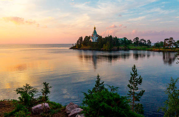 Фото поездка в монастырскую бухту в Карелии