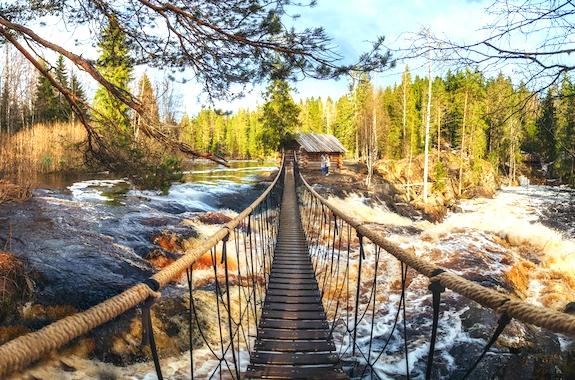 Картинка тур на Рускеальские водопады