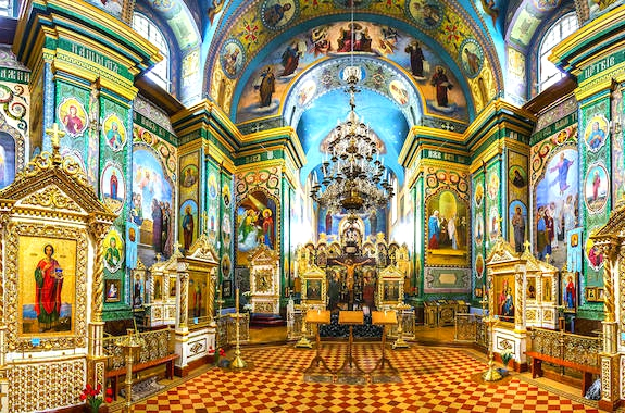 Картинка Почаевская Лавра иконы