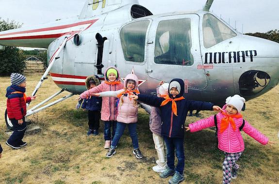 Фото экскурсия на аэродром для заказных групп