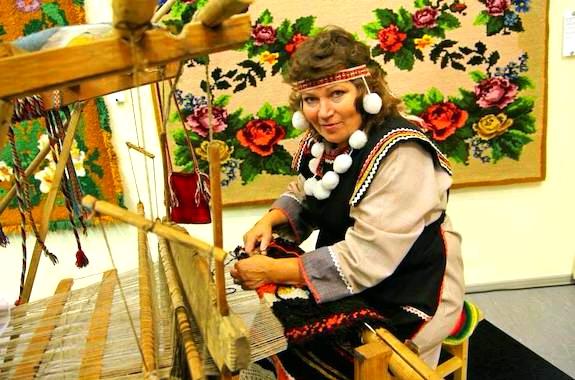 Фото мастер-класс по плетению ковров