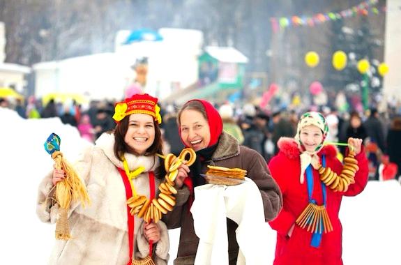 Фото празднование Масленицы в Переяславе-Хмельницком