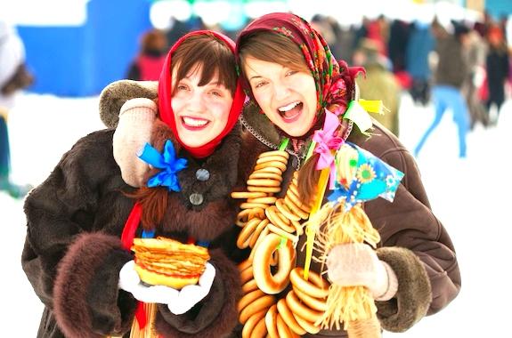 Фото празднование Масленицы из Киева