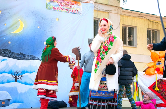 Фото празднование Масленицы в этнохуторе