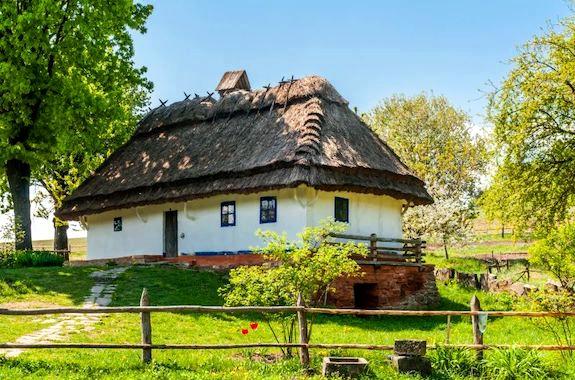Фото этнокомплекс Украинское село