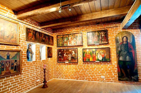 Фото музей украинской домашней иконы