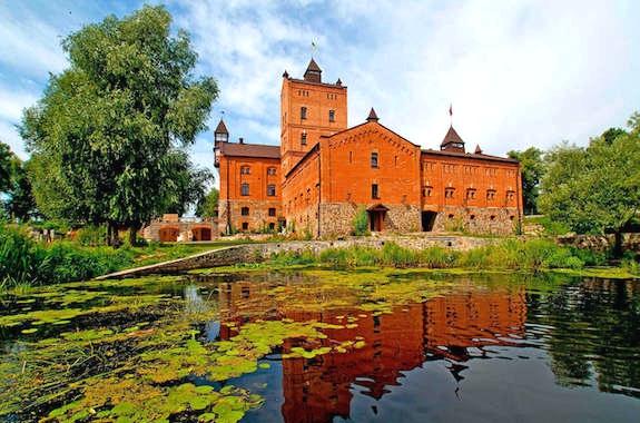 Фото замок в Радомысле