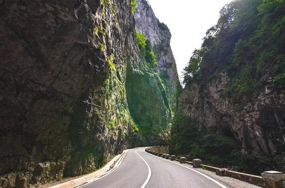 Фото поездка на каньон в Румынии