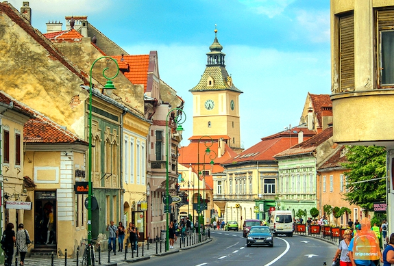 Фото прогулка в Брашове