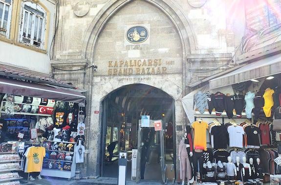 Картинка тур в Стамбул на гранд базар