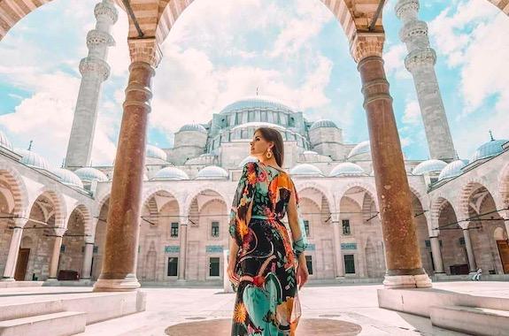 Фото поездка в голубую мечеть