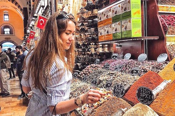 Фото мастер-класс по специям в Стамбуле