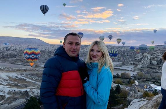 Картинка экскурсия в Каппадокию полет на Воздушном шаре
