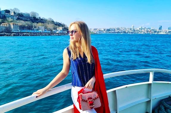 Картинка поездка на корабле по Босфору