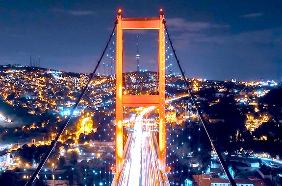 Картинка поездка по Босфору