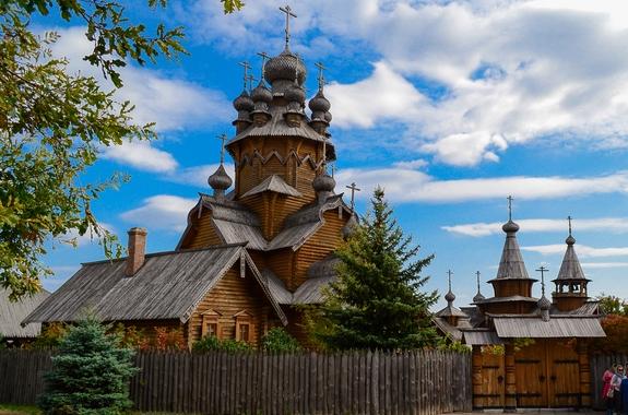 Фото Скит Всех Святых в Святогорске