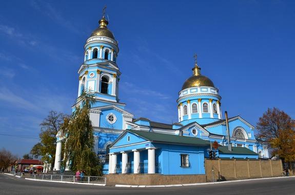 Фото Свято-Вознесенский собор в Изюме