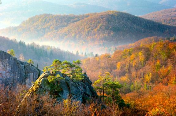 Фото поездка на скалы Довбуша