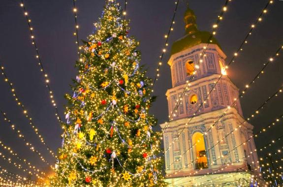 Картинка экскурсия по Киеву на Новый год
