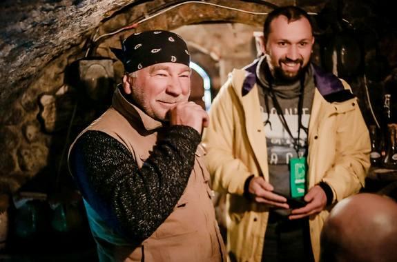 Фото дегустация напитков в Кельтском дворе