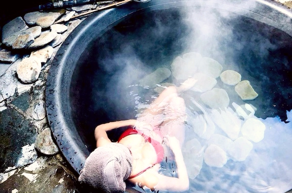 Фото купание в чанах в Лушморах