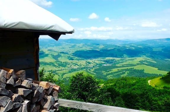 Картинка поездка на гору Гимба на Закарпатье