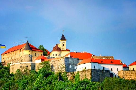 Фото поездка в замок Паланок