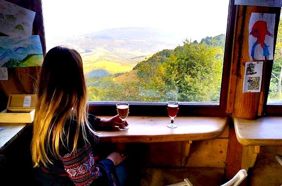 Картинка чайовня на горе Гимба