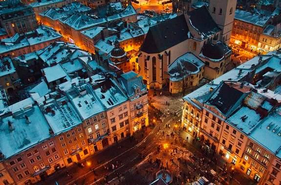 Картинки экскурсия во Львов на Новый год