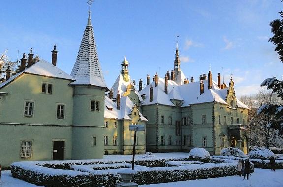 Фото поездка в замок Шенборна
