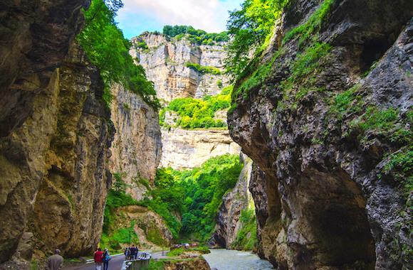 Фото экскурсия на Чегемские водопады