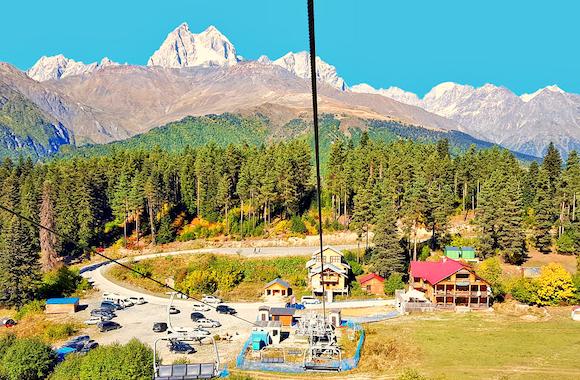Картинка тур на горнолыжный курорт Хацвали