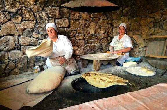 Фото мастер-класс по выпечке армянского лаваша