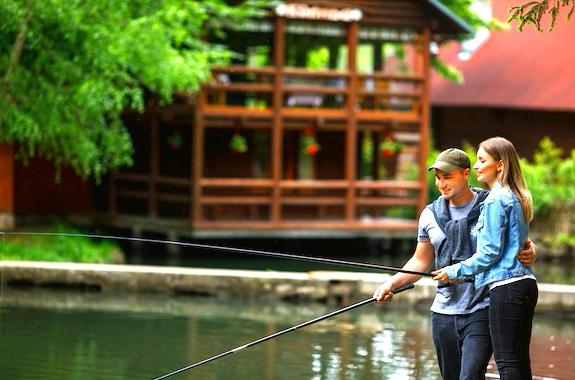 Фото рыбалка в Карпатах
