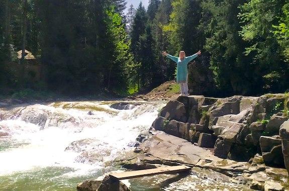 Фото поездка на водопад