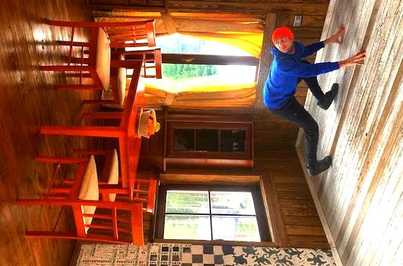Картинка экскурсия в Перевернутый дом в Карпатах