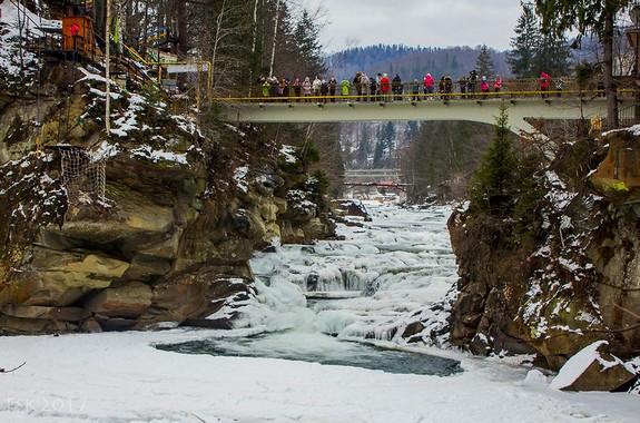 Картинка водопад Пробий Яремче